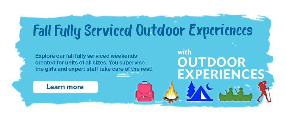 Fall Fully Serviced Outdoor Experiences