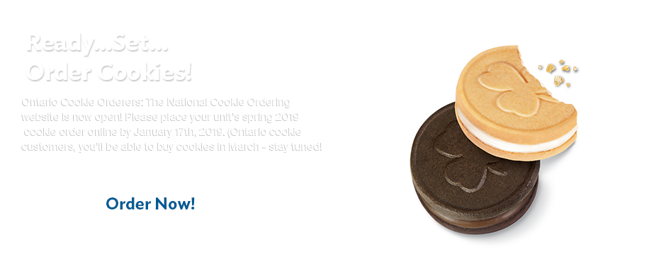 Spring 2019 National Cookie Order site now open