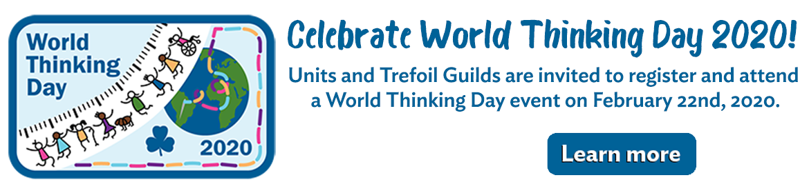 Celebrate World Thinking Day 2020