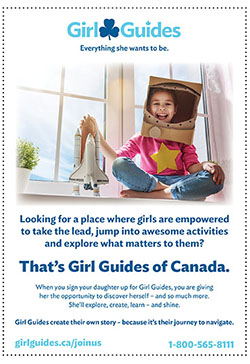 Girl Guides of Canada Poster