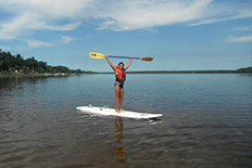 Girl Guides of Canada - Stand Up Paddleboard