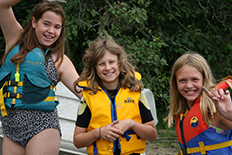 Girl Guides of Canada  - Camping