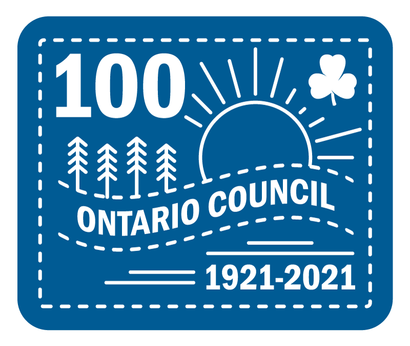 Ontario Council 100th Anniversary Crest