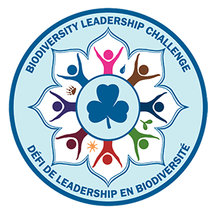 Biodiversity Leadership Challenge crest