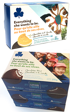 girl guides of canada cookie finder Girl guides of canada-guides du canada is the largest organization for girls and women, with over 135,000 members across canada the world association of girl guides and girl scouts(wagggs) brings together girl guiding and girl scouting associations in 145 countries supporting a membership of over 10 million globally.