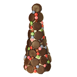 Chocolatey mint Christmas tree