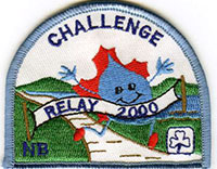 Trans Canada Trail Relay 2000 Challenge Badge