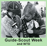 Guide-Scout Week and WTD