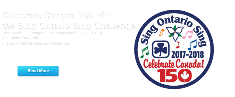 girl guides canada 150 challenge