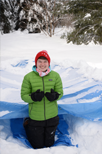 Girl Guides winter Family camping programs