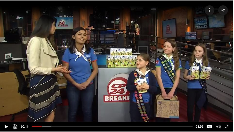 Girls on Breakfast Television at CP24