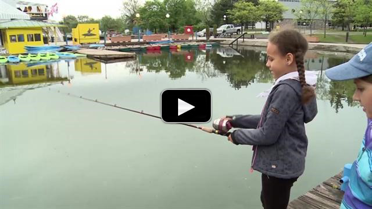 Girl Guides go fishing with Ottawa South Bass Masters fishing club