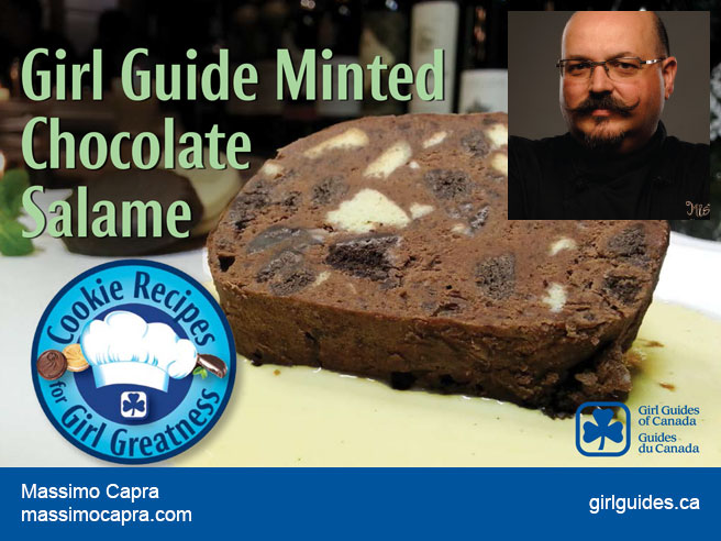 Girl Guide Minted Chocolate Salame – Massimo Capra