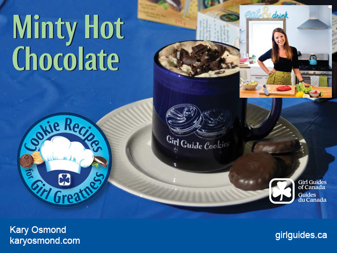 Minty Hot Chocolate – Kary Osmond