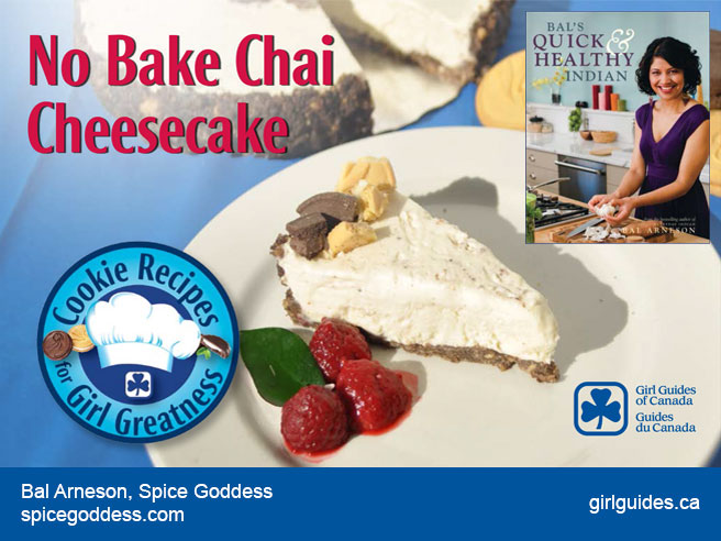 No-Bake Chai Cheesecake – Bal Arneson