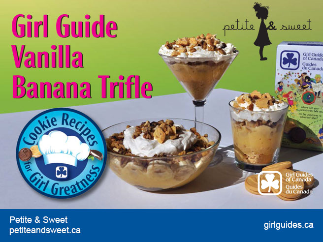 Girl Guide Vanilla Banana Trifle – Petite and Sweet
