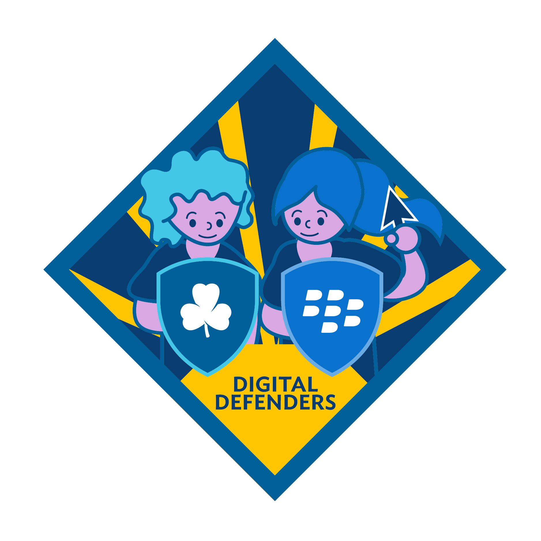 Digital Defenders Badge