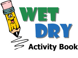 Wet Dry Activity Book