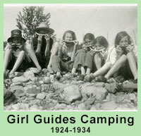 Girl Guides Camping 1924-1934